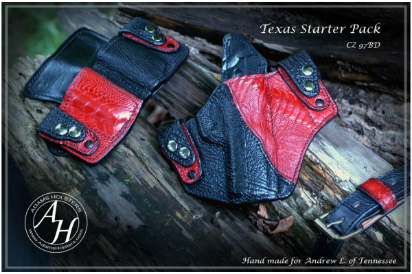 Texas IWB Holster Starter Pack - Holster, Mag carrier and belt