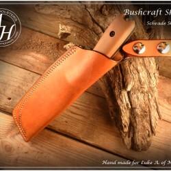 Bushcraft sheath
