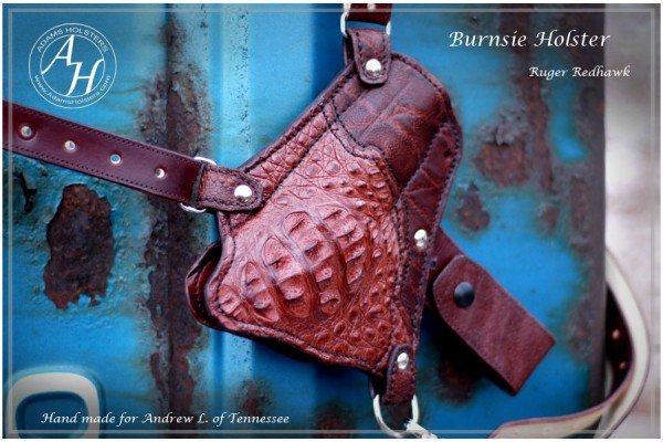 "The ""Burnsie"" holster"