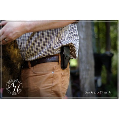 Buck 110 OWB(outside the waistband) Sheath