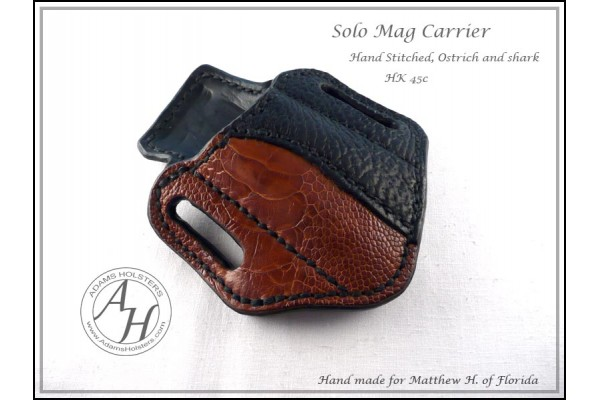 Solo OWB(outside the waistband) Magazine Carrier