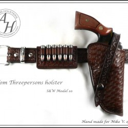 Classic Tom Threepersons OWB(outside the waistband) Holster